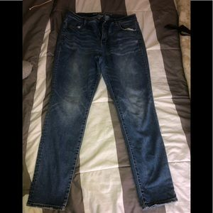 Worn American Eagle Jeans